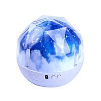 Светодиодный ночник проектор Magic Diamond Projection Lamp № 2290, фото 1