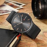 Мужские наручные часы Curren черные