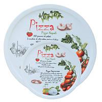 Набор тарелок керамических для пиццы и блинов 5шт/набор(4*)