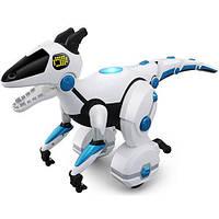 Интерактивная игрушка Динозавр робот 28308 на радиоуправлении с пультом, развивающие игрушки для детей