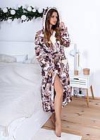Женский стильный длинный халат, фото 1