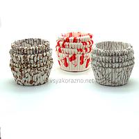 Бумажные формы для кексов и маффинов / Паперові форми для кексів і маффінів 75х30 мм (100 шт.)
