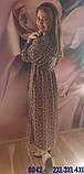 Платье с капишоном штапельные, 8042, фото 4