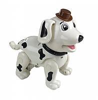 Собака 888-1F (Белый) робот, интерактивные развивающие игрушки на радиоуправлении для детей