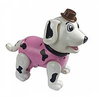 Собака 888-1F (Розовый) робот, интерактивные развивающие игрушки на радиоуправлении для детей