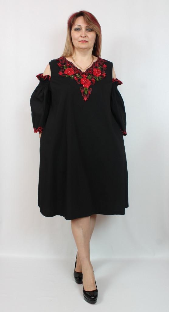 Турецкое женское вечернее платье больших размеров 52-64