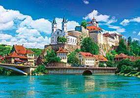 Пазлы на 1500 элементов Aarburg Castle Switzerland Danko Toys С1500-03-05