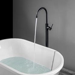 Кран для ванной высокий Sonic RD-262 черный (матовый) (RD-262)