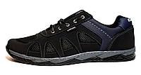 Кросівки чоловічі чорні від виробника (40 розмір)