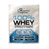 Powerful Progress 100% Whey Protein  пробник (30g)