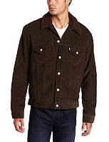 Зимняя куртка levis вельветовая Black/black