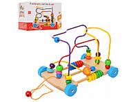 Деревянная игрушка MD 1241 (1241-1), развивающая игрушка для малышей