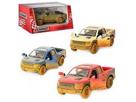 "Машина метал. ""Kinsmart"" Ford F-150 SVT Raptor,в кор-ці №KT-5365-WY(24)(96) КІ"