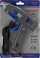 """Пістолет для клейових стрижнів """"Temp"""" d-1,1cм 60w-100w №IMG4764/2296"""
