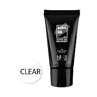 Акрил-гель NUB Acryl Gel Clear  прозрачный 30 мл