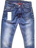 Узкие джинсы мужские  FB 13-051 Blue 3052, фото 2