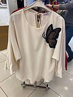 Женская блуза, батал. Турция.