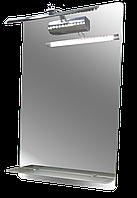 Зеркало HGlass IHM 5080 L с светильником и подогревом