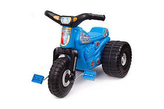 Трицикл дитячий ТехноК 4128 поліція, синій