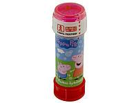 """Мильні бульбашки """"Dulcop"""" №103.667200 Пеппа 60мл пляшка/КіддіСвіт/"""