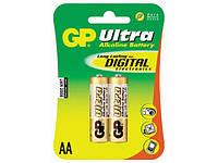 Батарейки GP Ultra 24AU-2UE2 LR-03/блістер 2шт (10)(80)