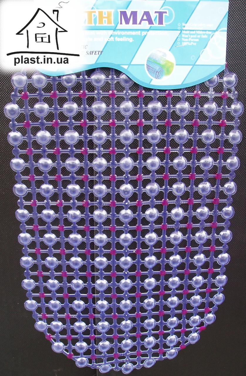 Силіконовий антиковзаючий килимок у ванну 053
