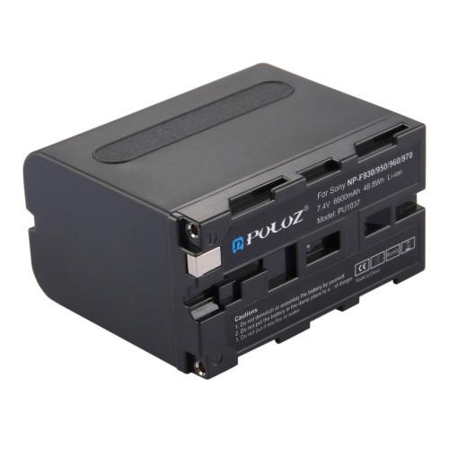 Акумулятор Puluz PU1037 для Sony NP-F970 (6600mAh)