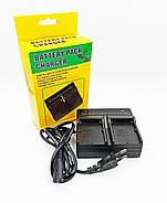 Зарядний пристрій Visico Double для двох Sony NP-F550, NP-F750, NP-F950, фото 4
