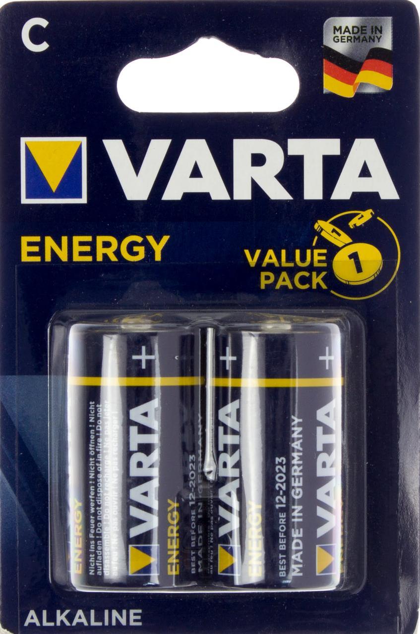 Батарейки Varta energy LR-14/блістер 2шт (10)