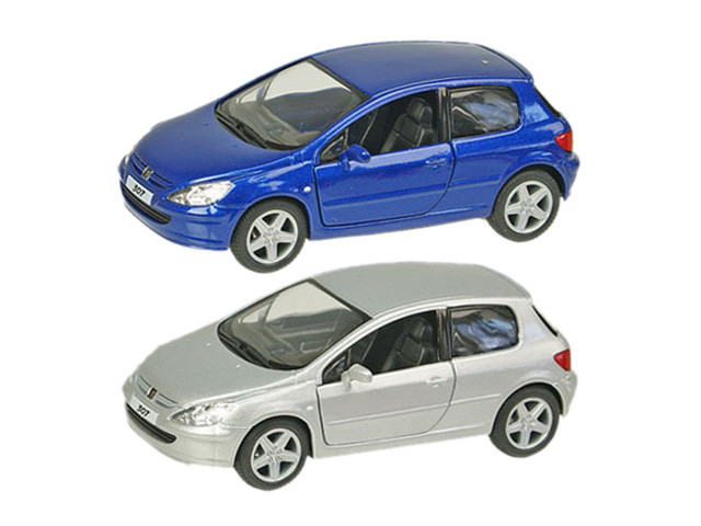 "Машина метал. ""Kinsmart"" Peugeot 307 XSI,у кор-ці №KT5079W(24)(96)"