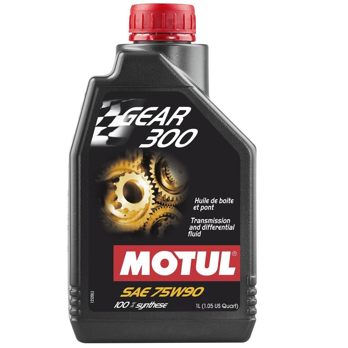 Масло трансмісійне 100% синтетичне эстеровое MOTUL Gear 300 SAE 75W90 1л. 105777/317101
