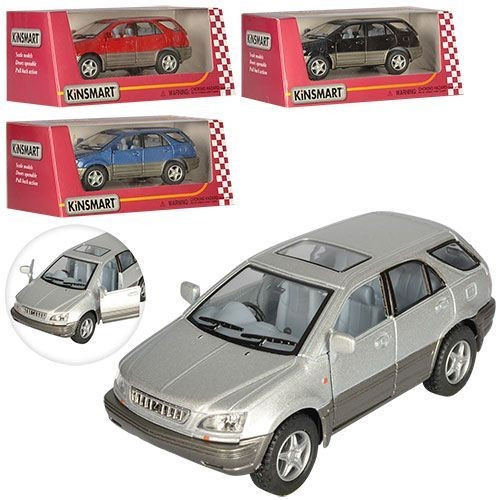 """Машина метал. """"Kinsmart"""" Lexus RX 3000,в кор-ці №KT-5040-W(24)(96)"""