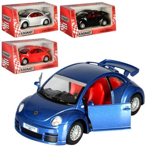 "Машина метал. ""Kinsmart"" Фольксваген New Beetle Rsi №KT-5058-W(24)(96)"
