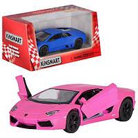"Машина метал. ""Kinsmart"" Matte Lamborghini,у кор-ці №KT-5370-W(24)(96) КІ"