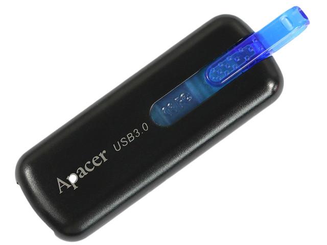 """Флеш-пам'ять 16GB """"Apacer"""" AH354 USB 3.0 black"""
