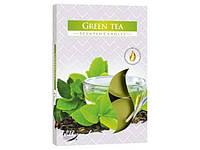 """Набір свічок з ароматом """"Bispol"""" p15-83 4h (6шт) зелений чай №5835/Польща/(48)"""