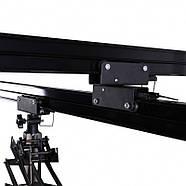Підвісна рейкова система з пантографами Falcon B-3030C, рейки 4 шт + 4 пантографа, фото 6