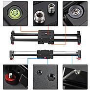 Слайдер Visico AL-50D Double slider для камер фото видео, фото 5