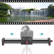 Слайдер Visico AL-50D Double slider для камер фото видео, фото 7