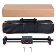 Слайдер Visico AL-50D Double slider для камер фото видео, фото 8