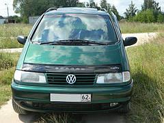 Дефлектор капота, мухобойка Volkswagen Sharan 1995 – 2000 Vip Tuning