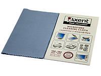 """Серветки  для очишення оргтехніки мікрофібра """"Axent"""" №5307(50) 150х180мм"""