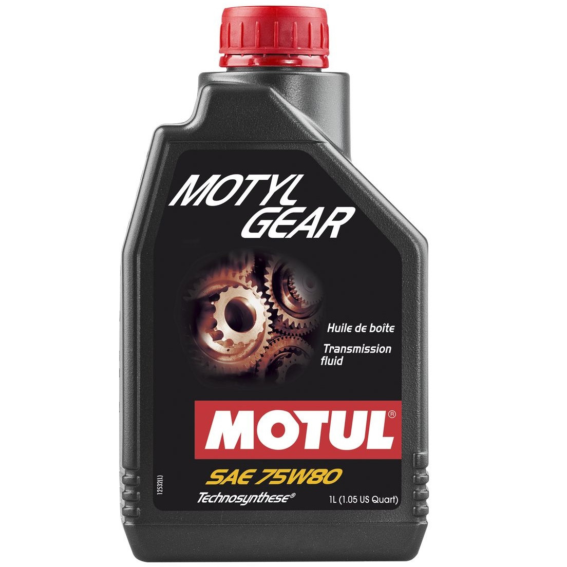 Масло трансмиссионное Technosynthese MOTUL Motylgear SAE 75W80 1л. 105782/823401