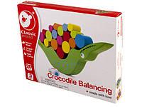 Іграшка дерев'яна балансир Крокодил №3523 Classic World