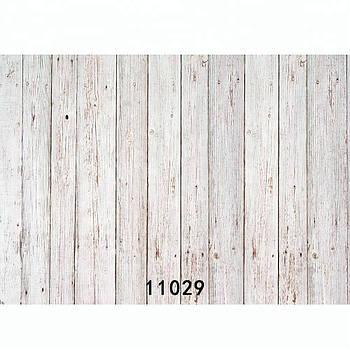 """80х125см Фон ПВХ для зйомки з малюнком """"білені дошки"""" Visico VB-11029"""