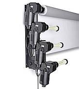 Электрическая система крепления 4-х бумажных фонов на стену / потолок Visico B-4WE (держатель для фотостудии), фото 5