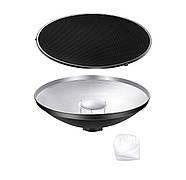40,5см Портретная тарелка с сотами Visico RF-405 Kit Beauty Dish , фото 7