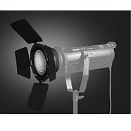 Линза Френеля со шторками и сотой NiceFoto FD-110 для моноблоков постоянного света, Bowens , фото 4