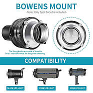 Тубус оптический Visico M-Optical Conical Snoot, Bowens, фото 2