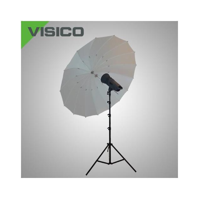 Фотозонт Visico AU150-C (180см) белый просветный параболический